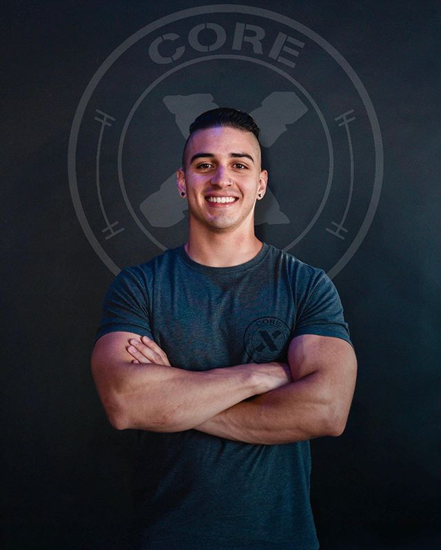 New Trainer Alert 🚨🚨🚨 | Welcome to the team Coach @d.valencia_fit 💪 | Coach David V. Will be coaching Monday's & Wednesday's at 8:15pm and Tuesday's & Thursday's at 6:05pm along with being a full time personal trainer. #corexfitness #personaltrainer #fitness