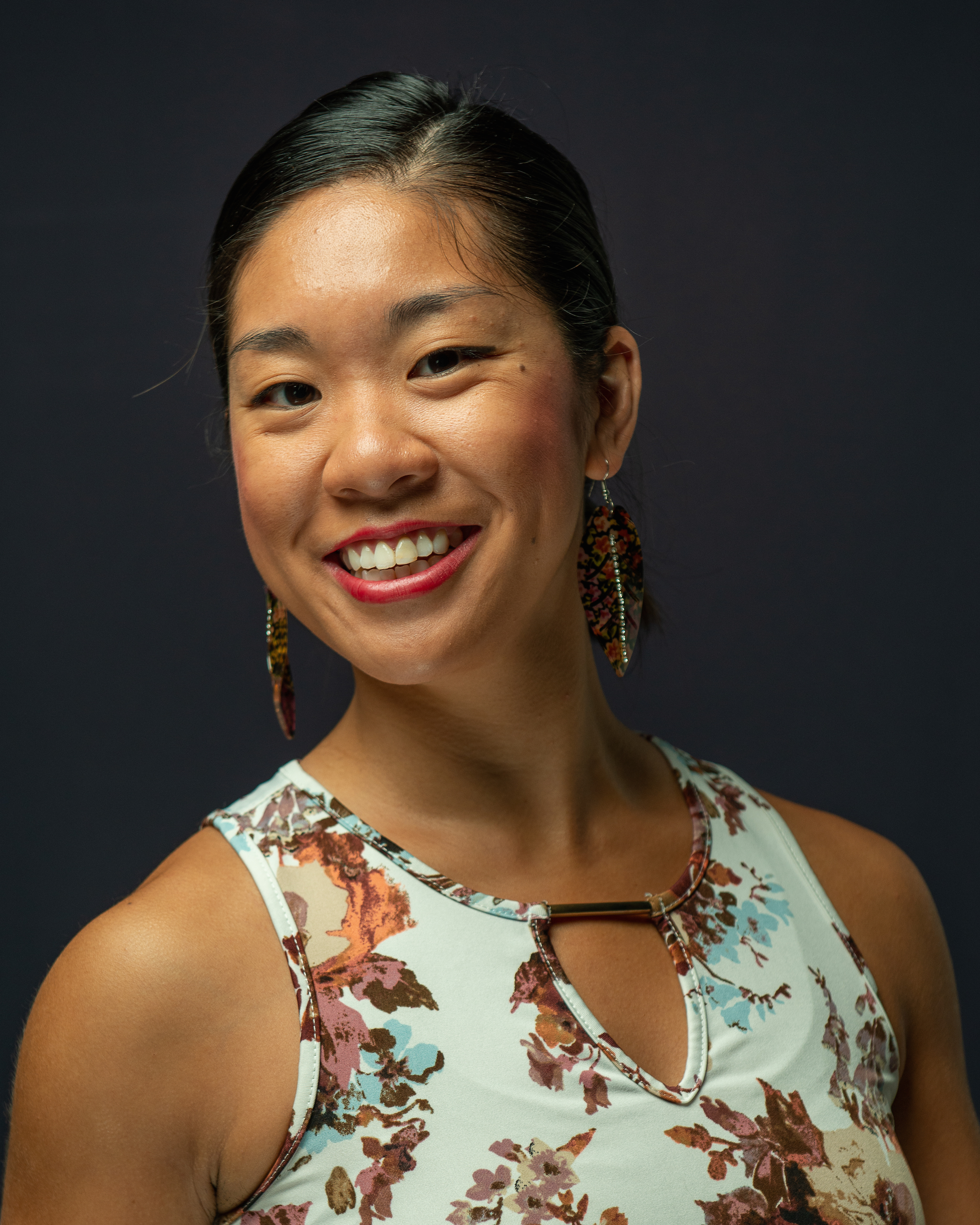 Carol Tang  , a native of Cincinnati, Ohio, began her classical training at the age of ten with Cincinnati Ballet. She had the privilege of performing with the company in ballet such as Val Caniparoli's Nutcracker, Kirk Peterson's The Sleeping Beauty, Swan Lake and Giselle. In 2004 & 2005, Mrs. Tang placed in the top 12 at the Youth American Grand Prix regional semi- finals. In addition to Cincinnati Ballet, Mrs. Tang has also studied at Ballet Internationale, Steps on Broadway, and China's Shanghai Ballet. She has worked closely with Irina Chistyakova, Shellie Cash, Jian Qi, Deidre Carberry, Devon Carney, Xin Lili, Patrick Notaro and Ka-Ron Brown Lehman. She is a scholarship graduate with a BFA in ballet performance from the University of Cincinnati College-Conservatory of Music. In 2011, she joined Island Moving Company for three seasons. During her career, she has performed Giselle in Giselle, Soloist in Balanchines's Walpurgisnacht, Principal in Paquita, Sugar Plum Fairy as a guest artist with Greenville Ballet, and parts in Le Corsaire and La Bayadere. With Ballet San Antonio, she has performed The Nutcracker, Ben Stevenson's Romeo and Juliet as Lady Capulet, Balachine's Donizetti Variations, Gabriel Zertuche's Dracula, Arvo, Scheherazade and Butterflying. In 2015, before her debut as odette/odile in Ben Stevenson's Swan Lake, she was promoted to Soloist in 2015.