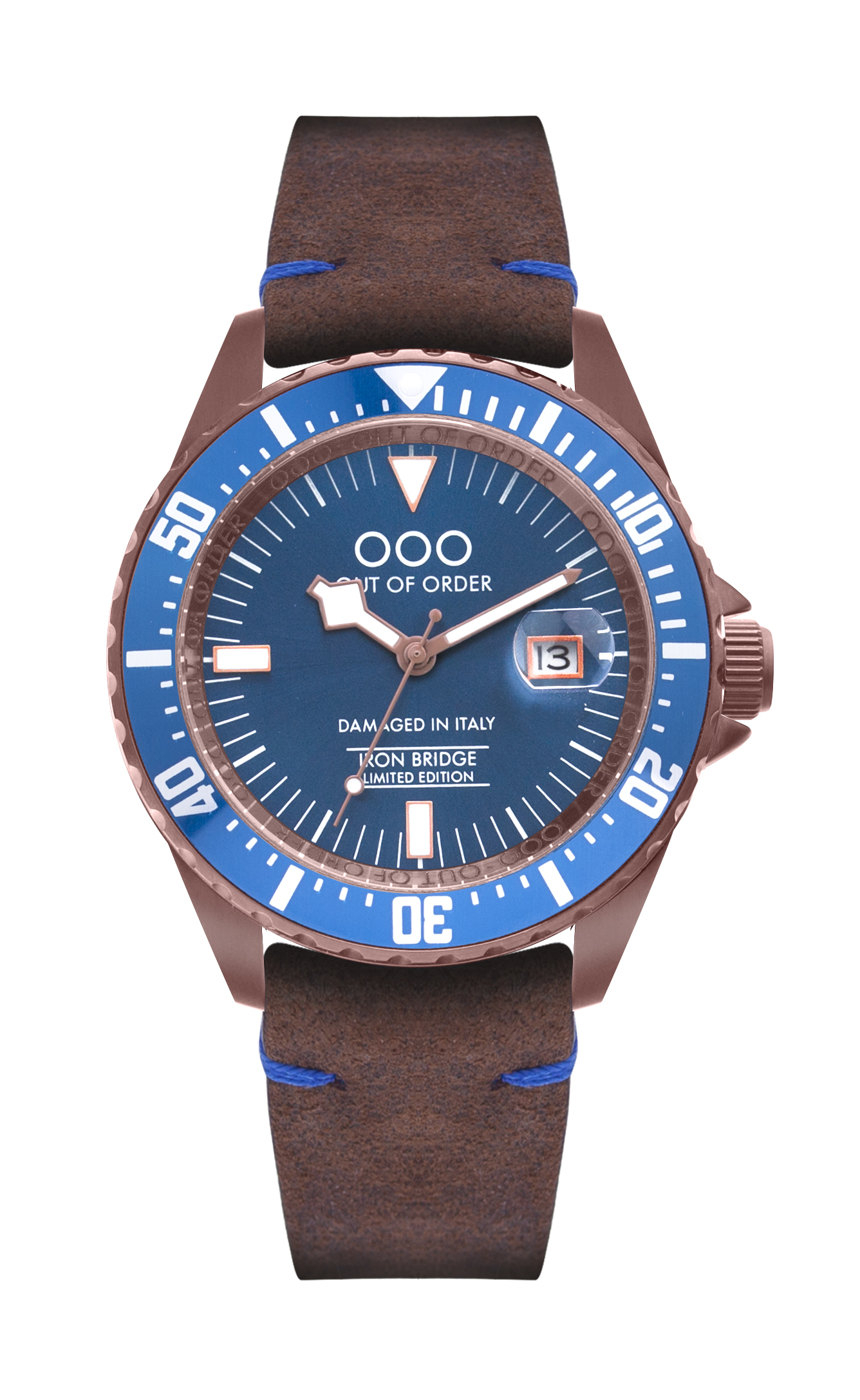 Limited Edition Out Of Order Watch - Brown Watch Band