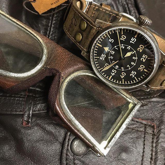 Laco 1925 classic pilot watch @laco1925 #watchgang #laco  #watch #dailywatch #pilot #watchporn #watchesofinstagram #wristcandy #horology #history