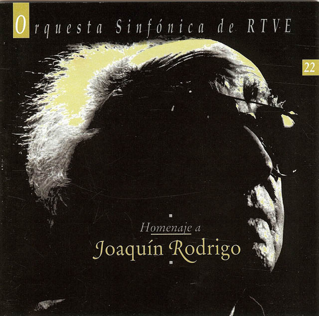 Homenaje a Joaquín Rodrigo Los Romero con Orquesta Sinfónica de RTVE (Recorded 1997, live performance at the Alhambra) RTVE • Catalog no. 65136, OSyC-022