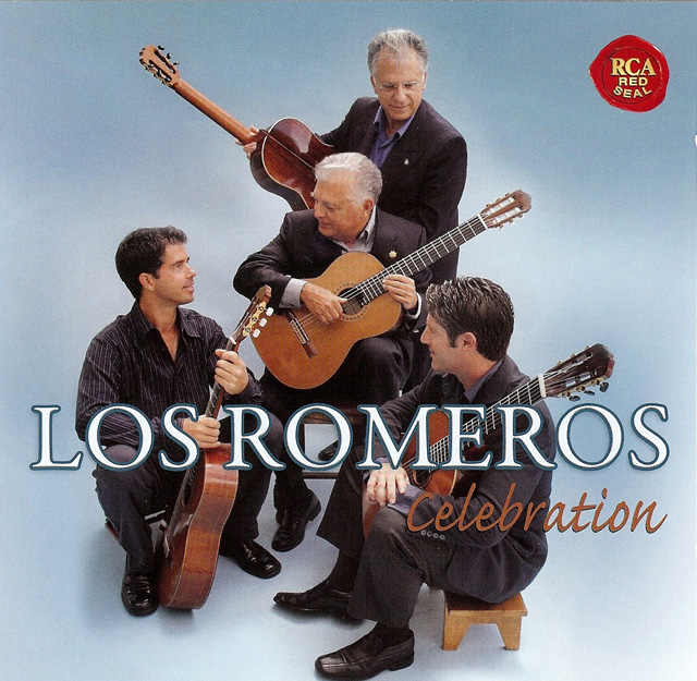 The Romeros: Celebration Recorded 2008: SONY (RCA RED SEAL) • Catalog no. 88697458272