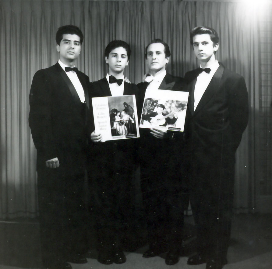 First recording of the Romeros 1960