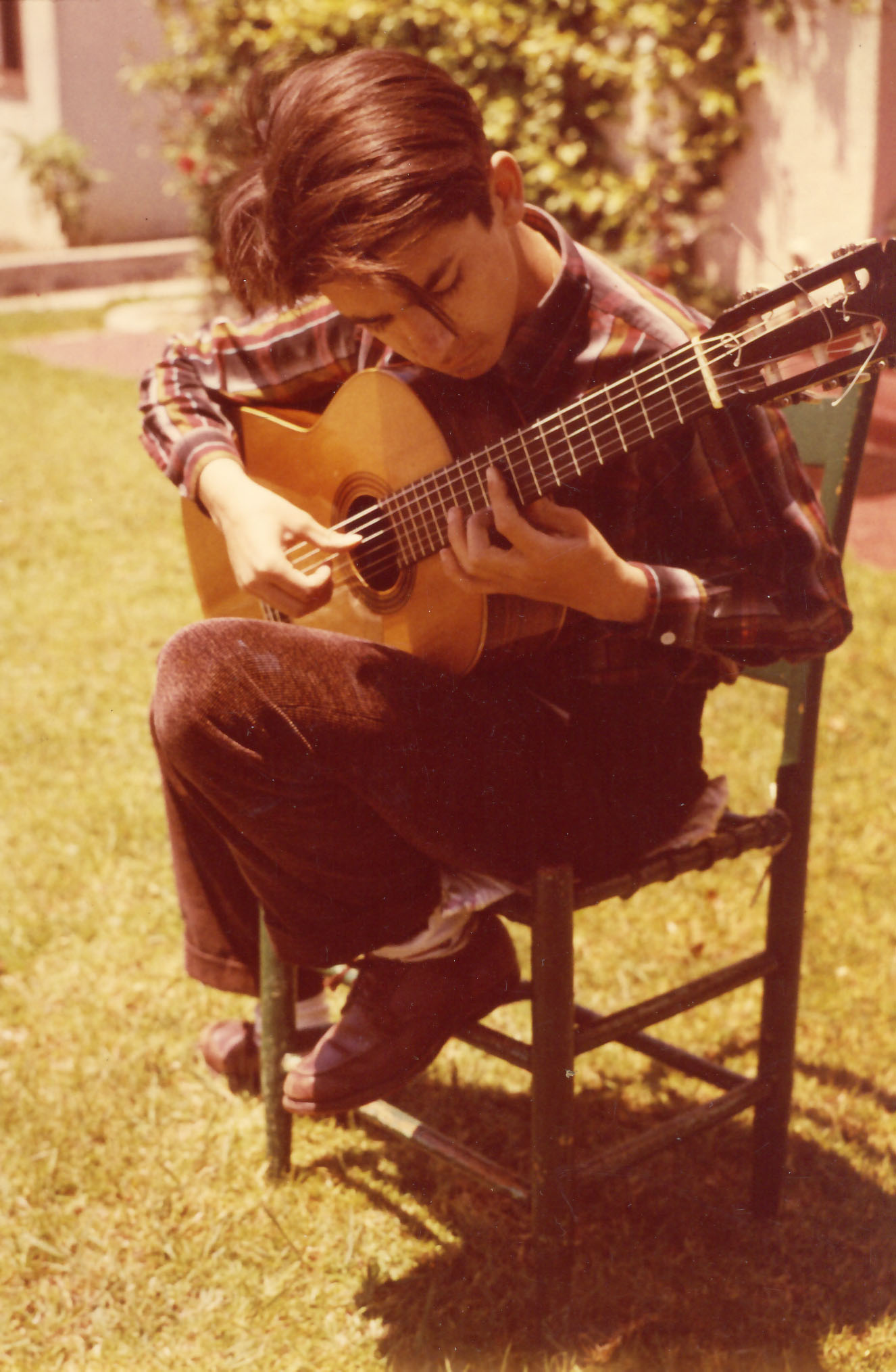 As a teenager in Santa Barbara 1958