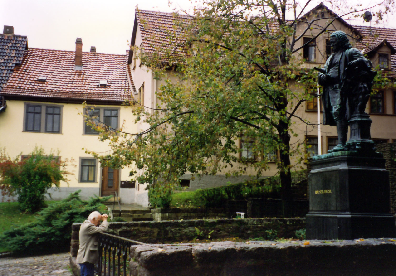 Celedonio at the home of J.S. Bach 1994
