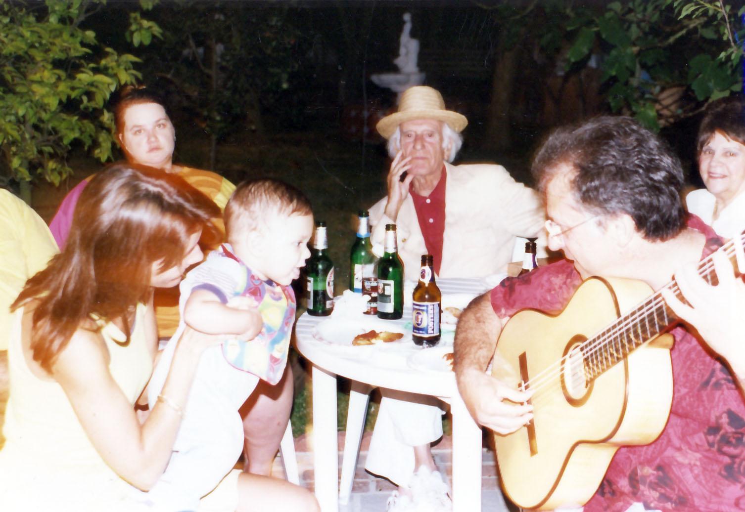 Grandson Bernardo's 1st flamenco party