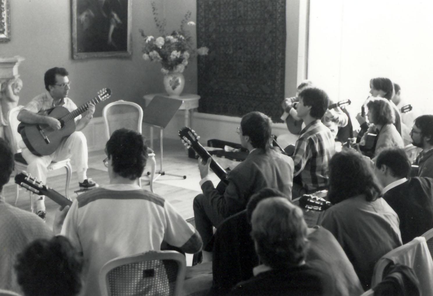Master class in Baden, Switzerland 1988