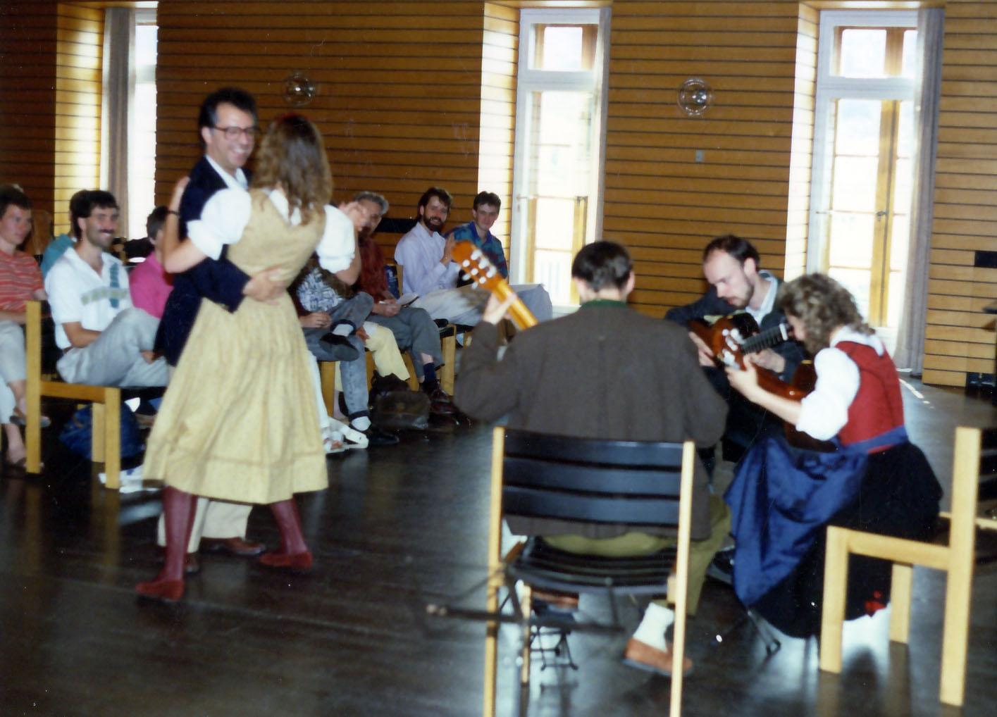 Waltzing in Salzburg master class 1991