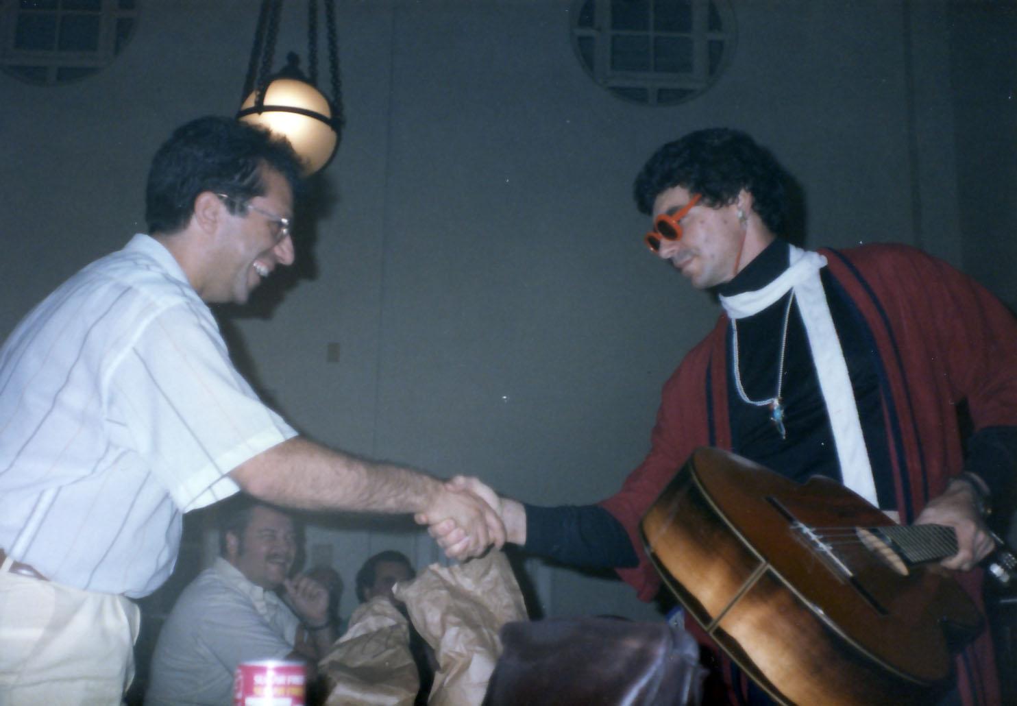 Pepe with Bubba Joe Brouwer (aka Terry Gaschen)