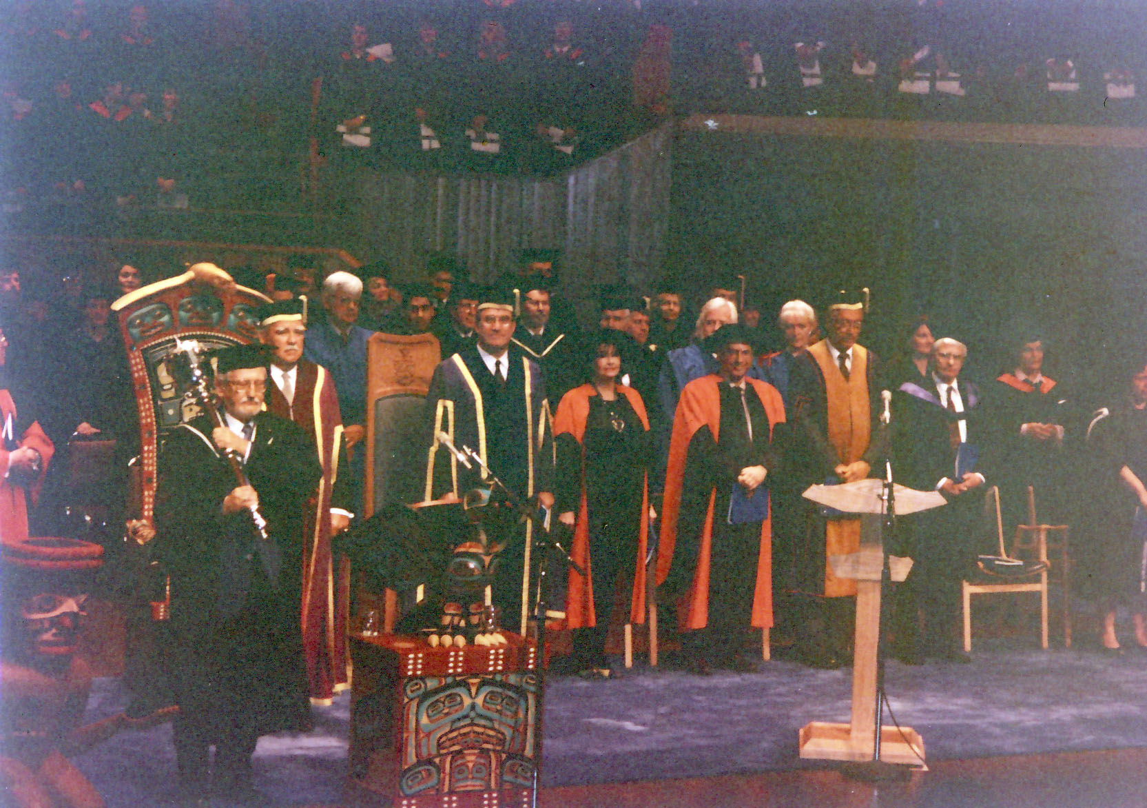 Pepe receiving honorary doctorate at University of Victoria, B.C.