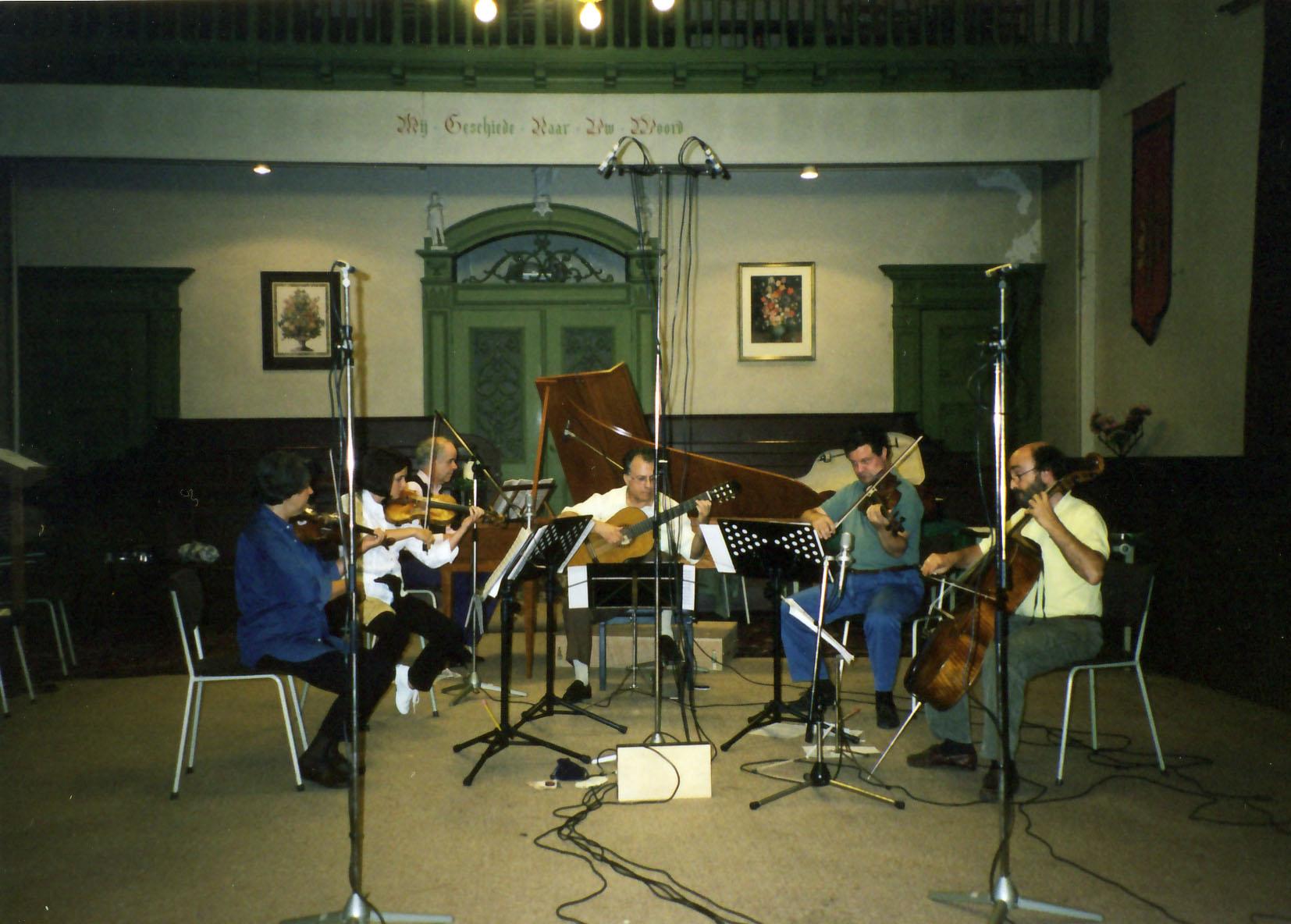 Pepe and Stradivari String Quartet