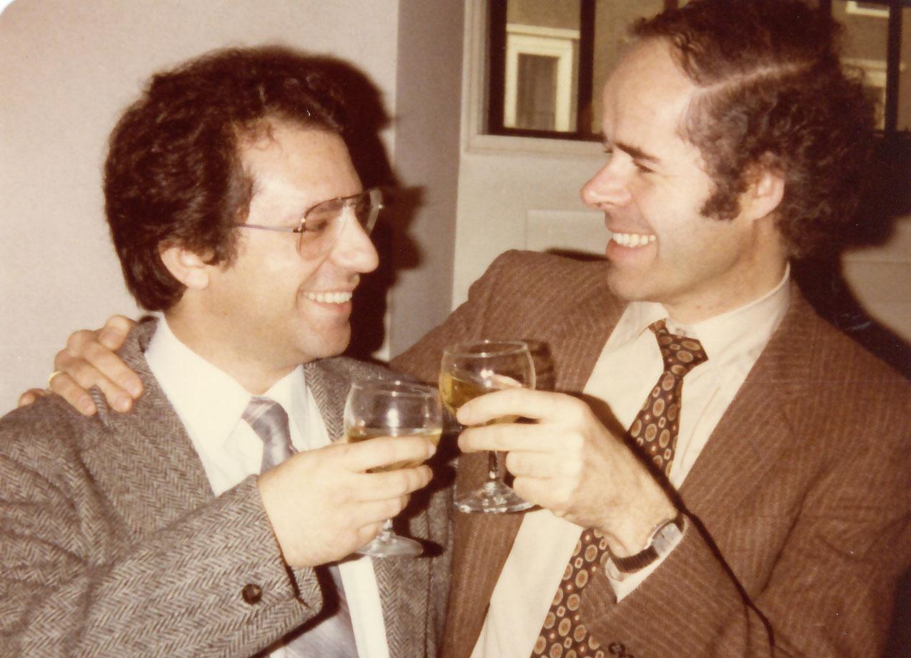 Pepe with producer Wilhelm Hellweg