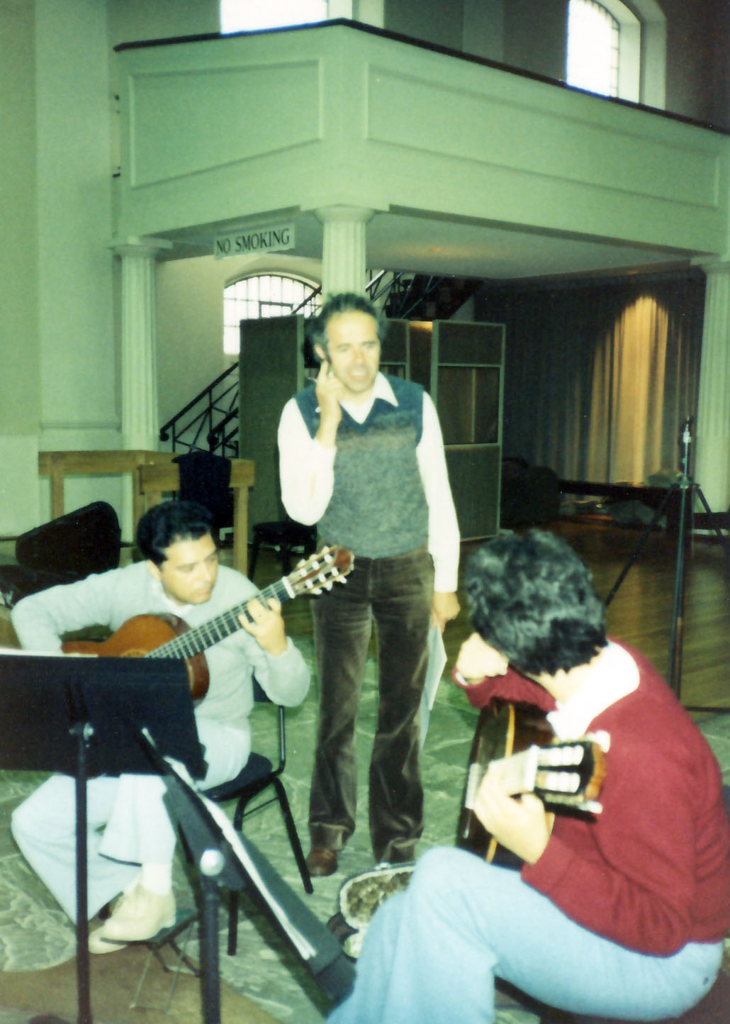 Celin, Wilhelm Hellweg and Pepe recording session ¨Famous Spanish Dances¨