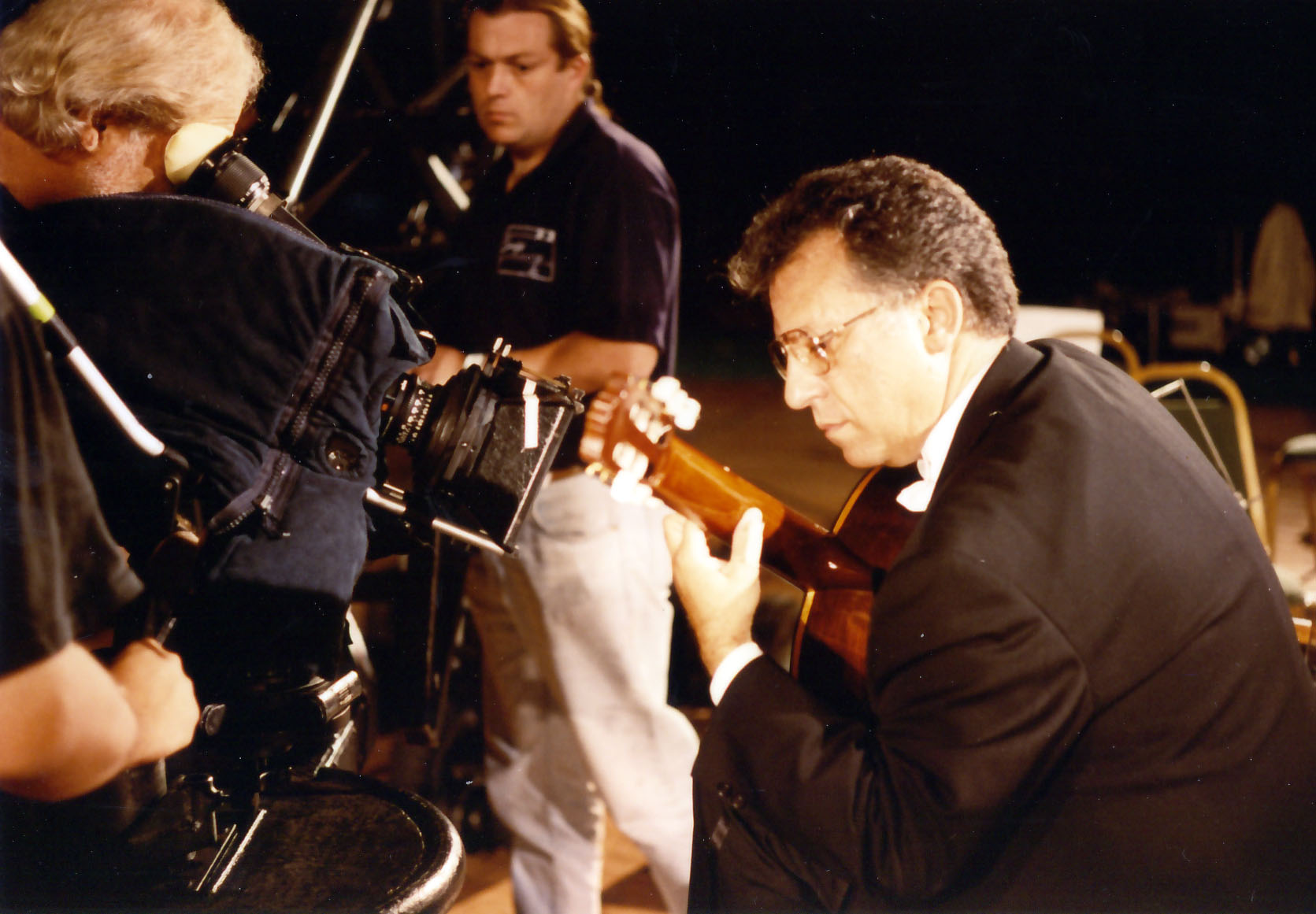 Filming live performance in ¨Rodrigo at 90: Shadows and Light¨