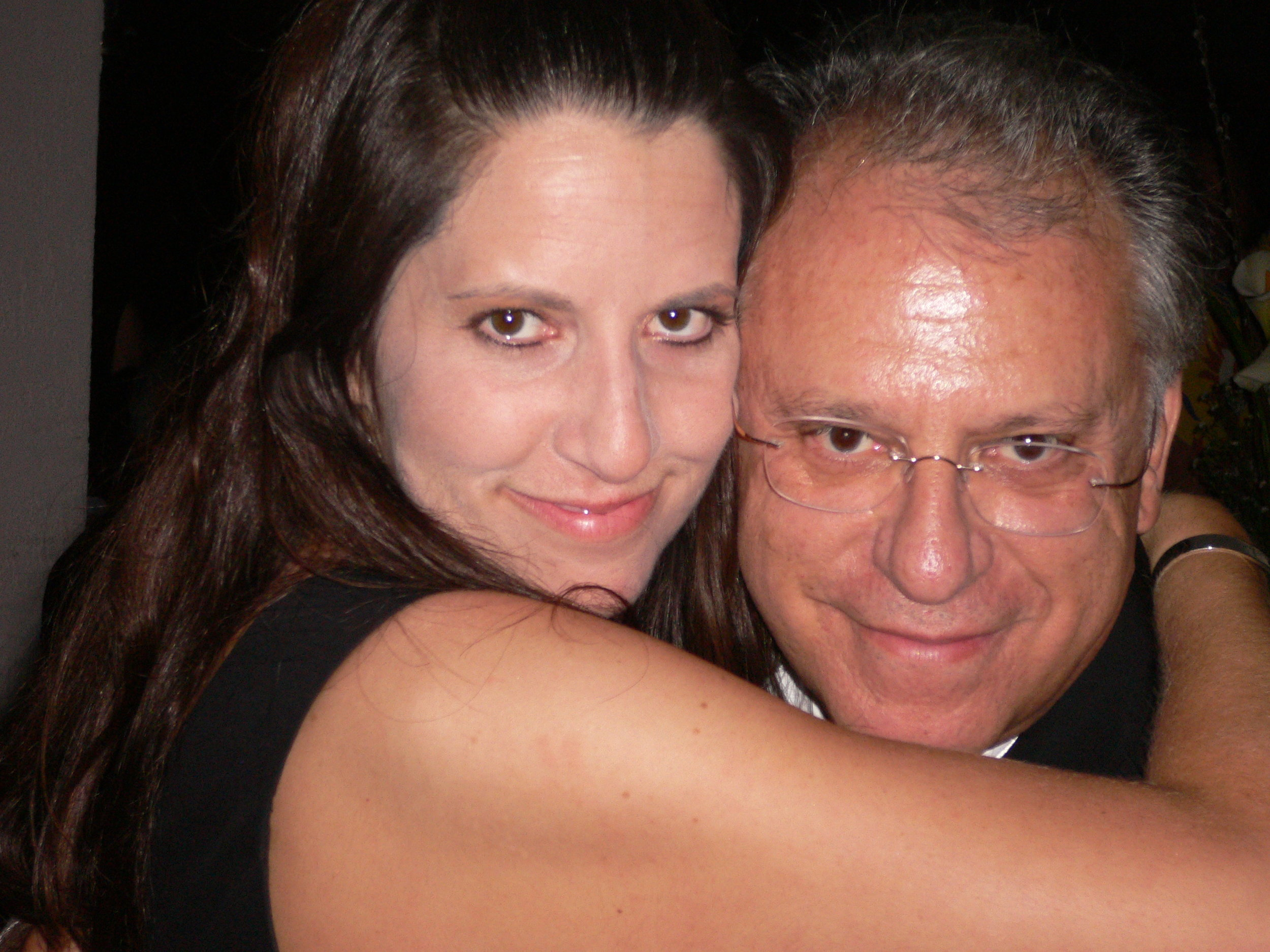 Daughter Susanna and Pepe