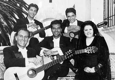 The Romero family in Santa Barbara 1961