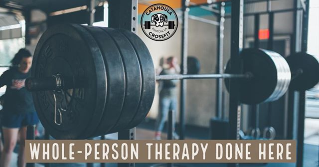 CrossFit costs money. So does therapy...and every kind of feel-better remedy. Our therapy is for ALL of you - all people - and together we strengthen bodies, minds, and emotional well-being.  #catahoulacrossfit #crossfit #fitness #fitfamily #ruston #rustonlouisiana #grambling #latech