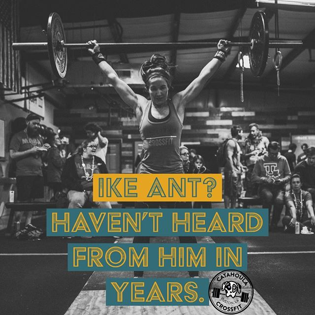 "Can't is very often a ""won't"". What the mind believes, the body achieves. #catahoulacrossfit #crossfit #workout #fitfam #fitness #ruston #rustonlouisiana #latech #grambling"