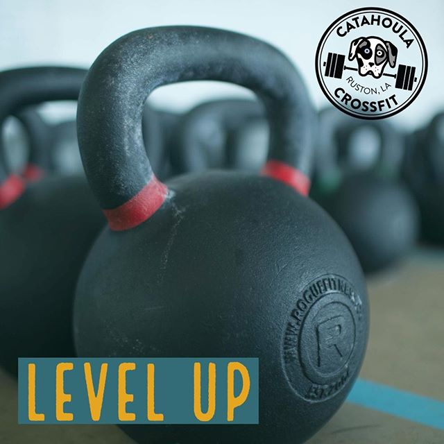 It's time to level up. Build a better you. #catahoulacrossfit #motivation #workout #fitfam #fitness #ruston #rustonlouisiana #grambling #latech