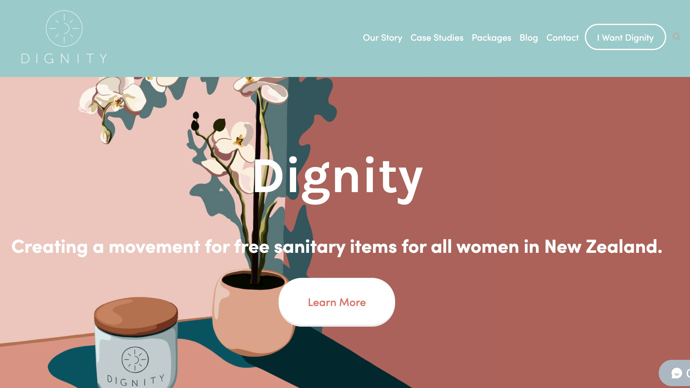 "Case B ('Dignity' based in NZ) - Runs a ""buy one, give one"" model. For every box of sanitary items a company purchases from this social enterprise, they will donate another box to schools and youth organisations in need."