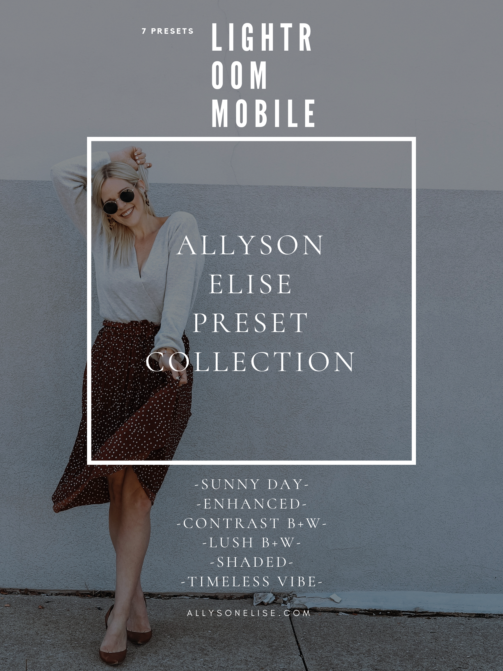 Your ticket to making your photos MAGICAL in ONE CLICK! - #allysonelisepresets