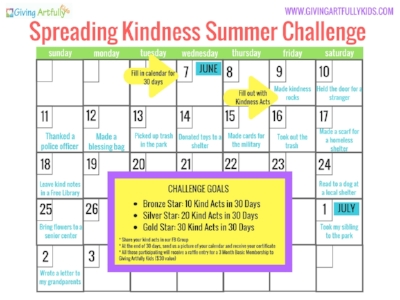 Spreading Kindness Challenge