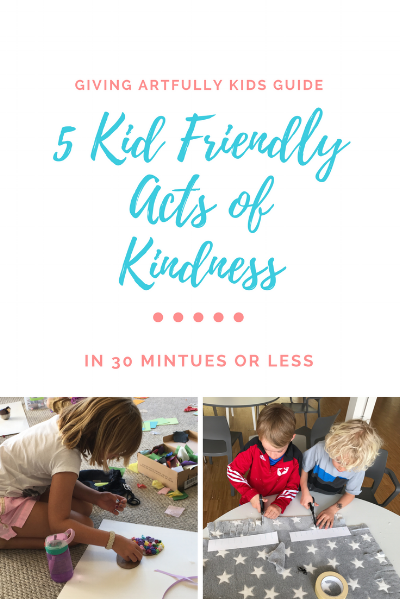 Kid Friendly Acts of Kindness
