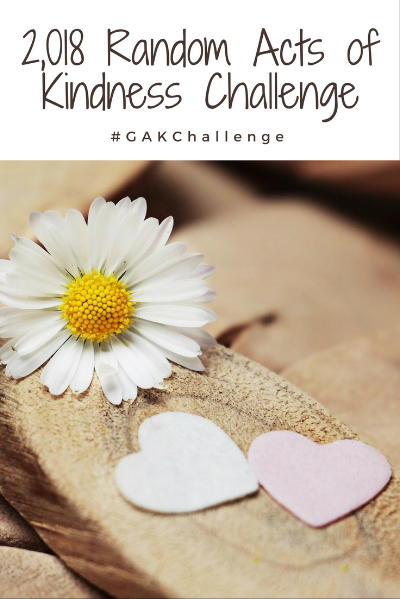 2018 Random Acts of Kindness Challenge