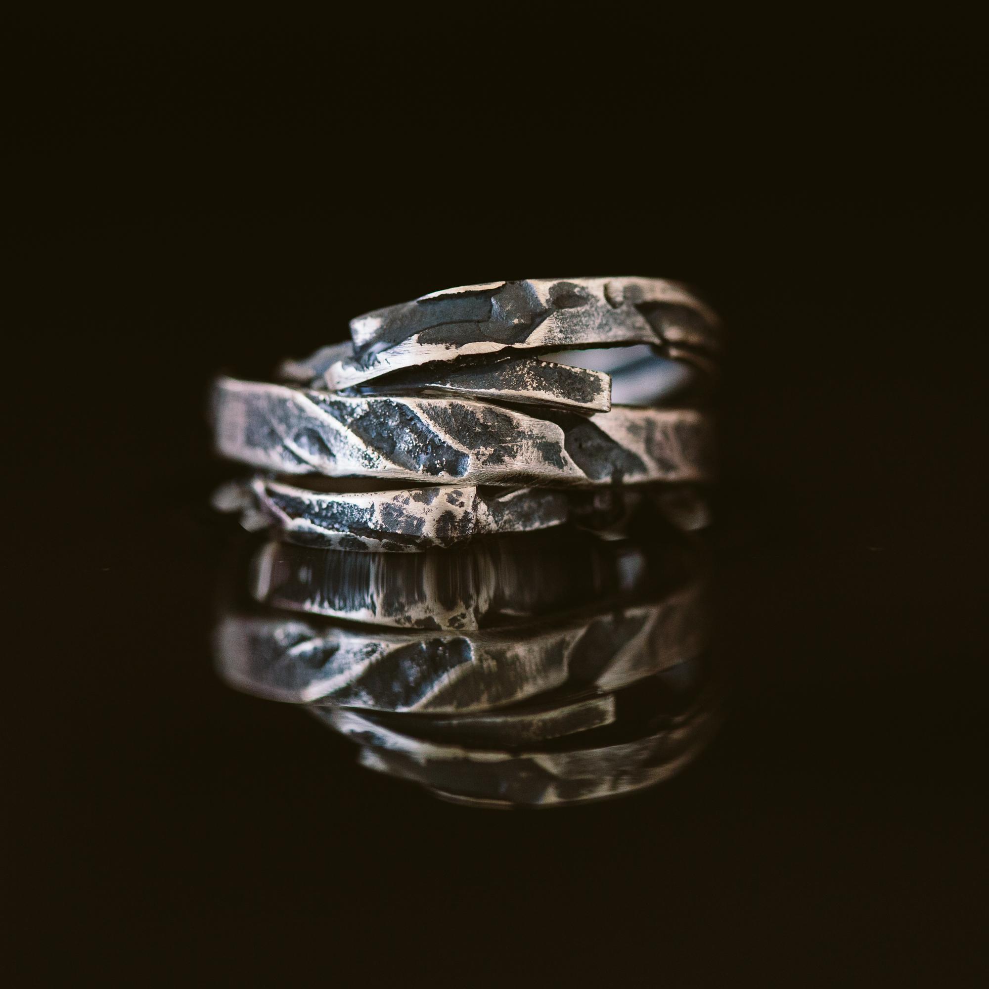Argentium Silver Arm Bands