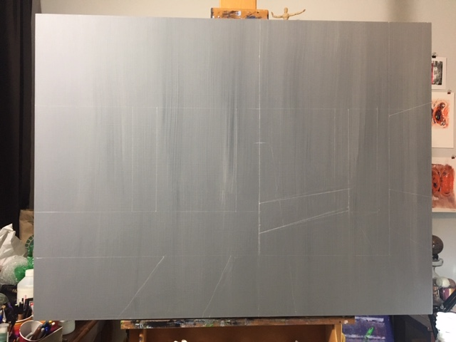 it began with sketches on a neutral background