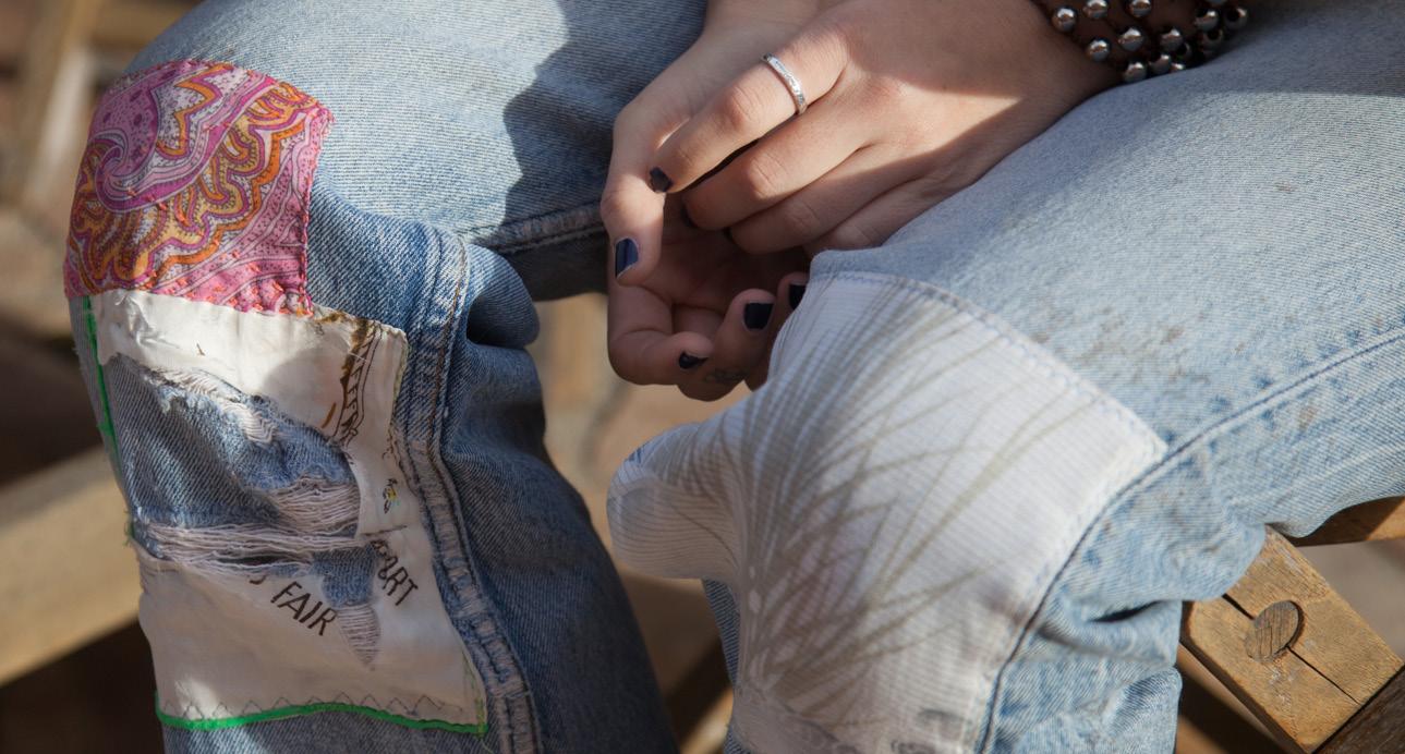 CUSTOM REWORKED DENIM - Transform your favorite jeans or tees!