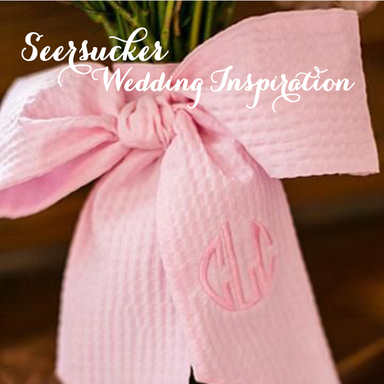 grace and serendipity - seersucker wedding inspiration