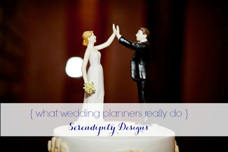 what wedding planners really do - grace and serendipity