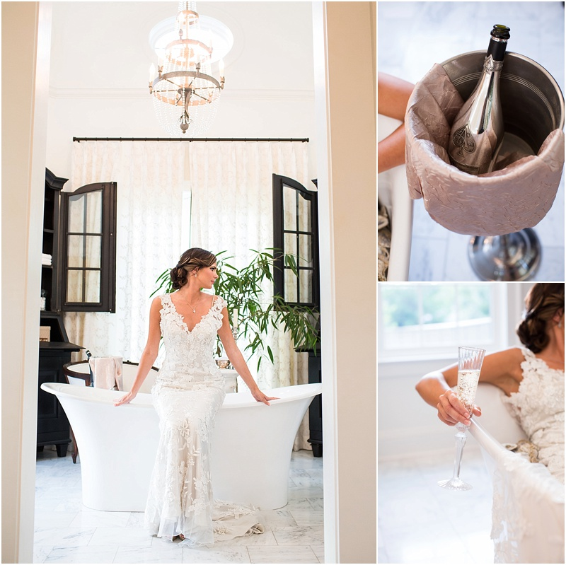grace and serendipity, ashley victoria photography, fiore - the lacy oyster - bride in bathtub with oysters