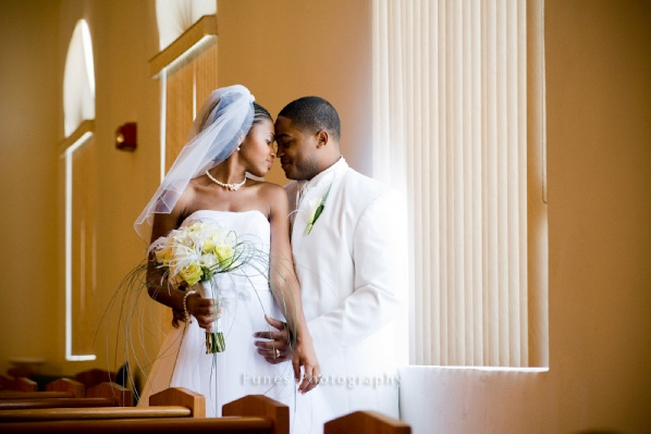 ayanna and milton - pensacola wedding