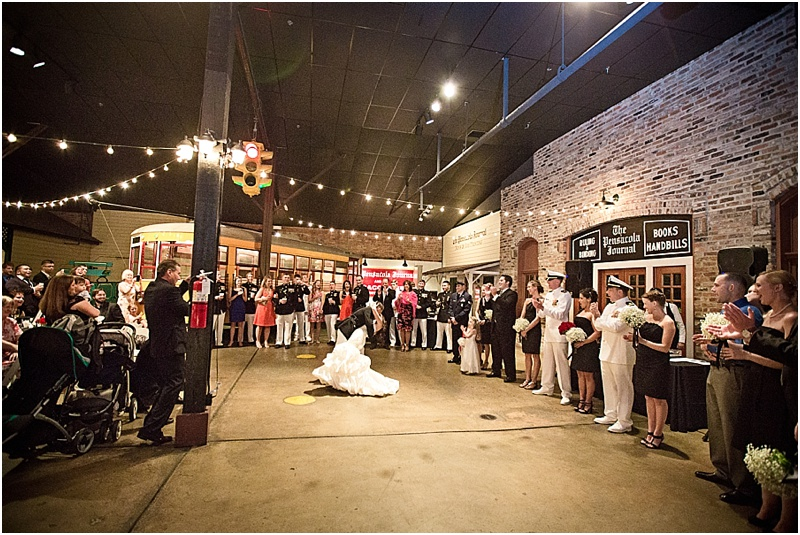 kayley and brian - old christ and museum of commerce pensacola wedding - cook images photography