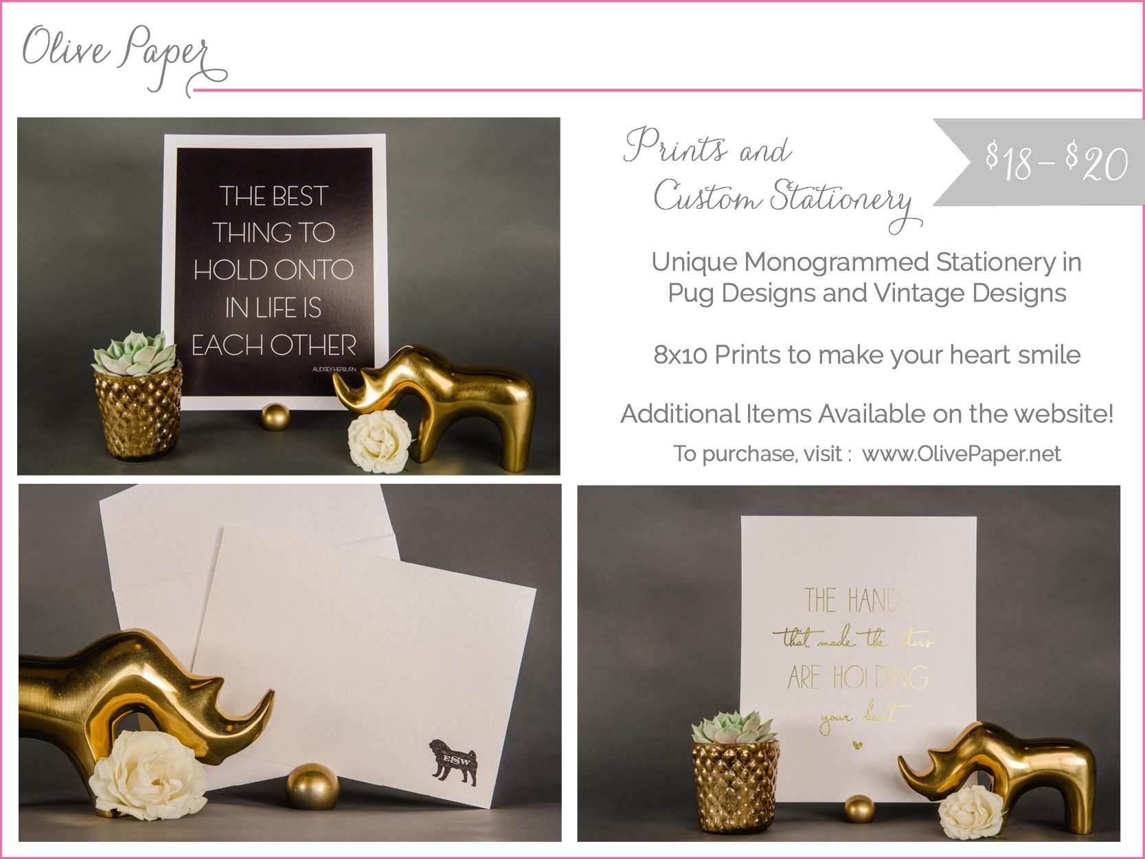 olive paper - prints and stationery - shop small