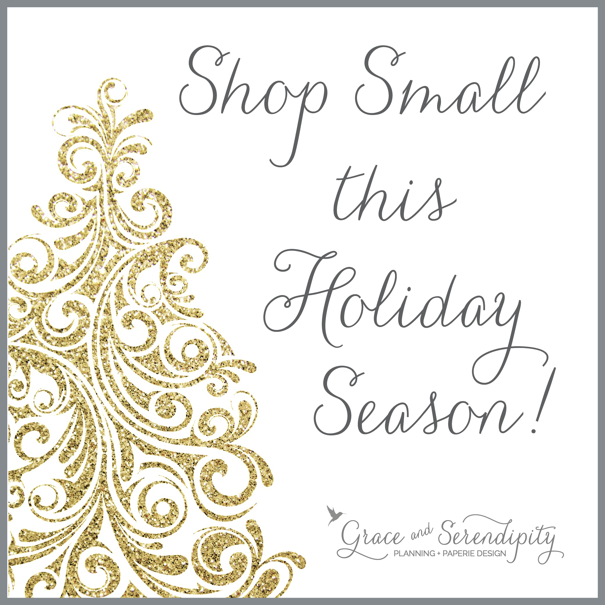 grace and serendipity - shop small this christmas