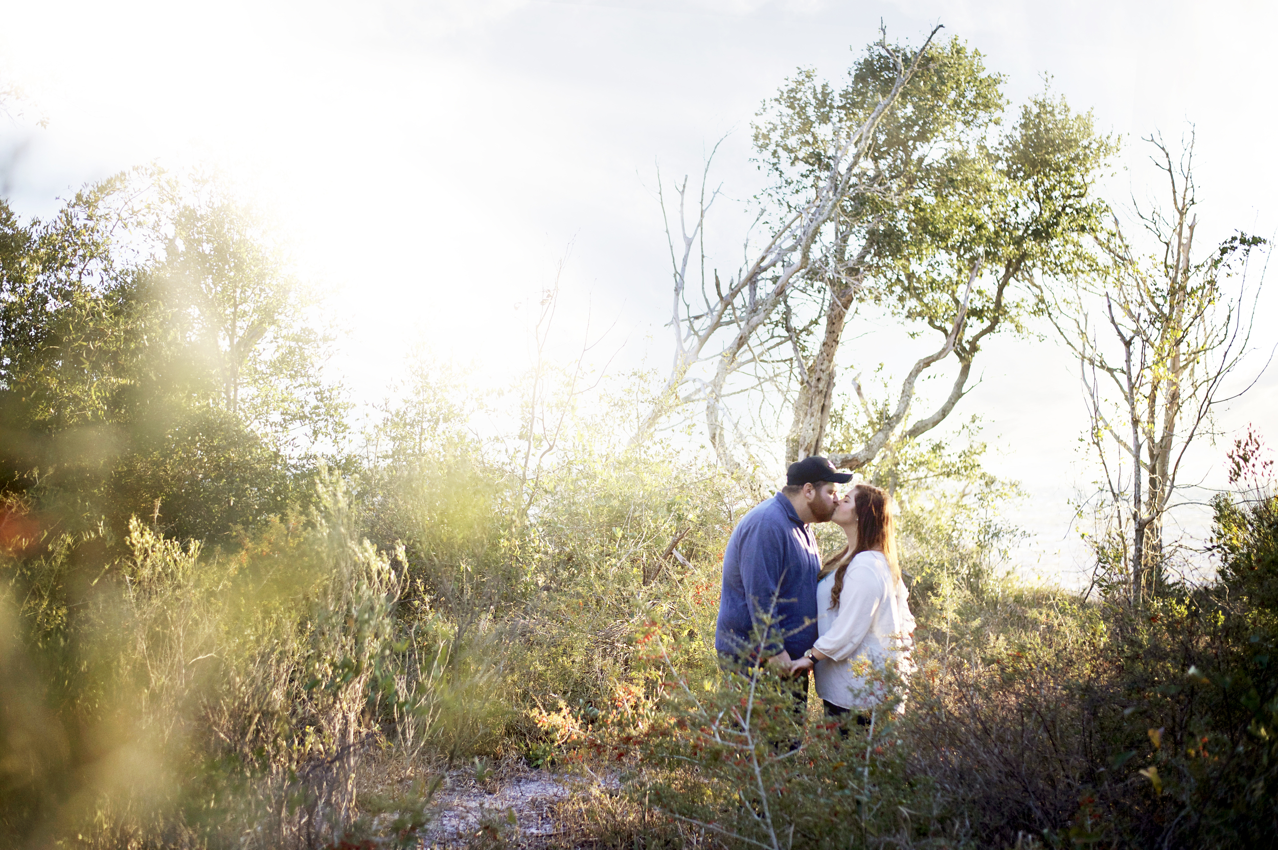 mary and ricky's engagement session - grace and serendipity wedding pensacola