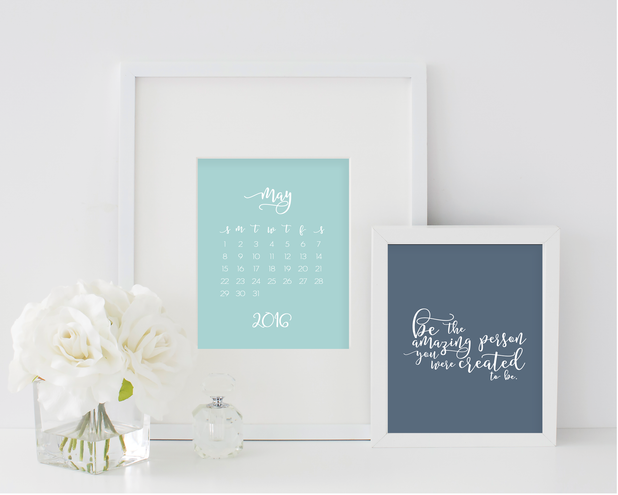 grace and serendipity - 2016 encouragement calendar