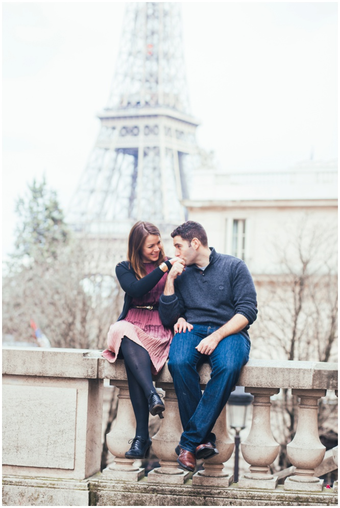 Shayna and Joe's Engagement Photos - taken in Paris, France by Daria Lorman