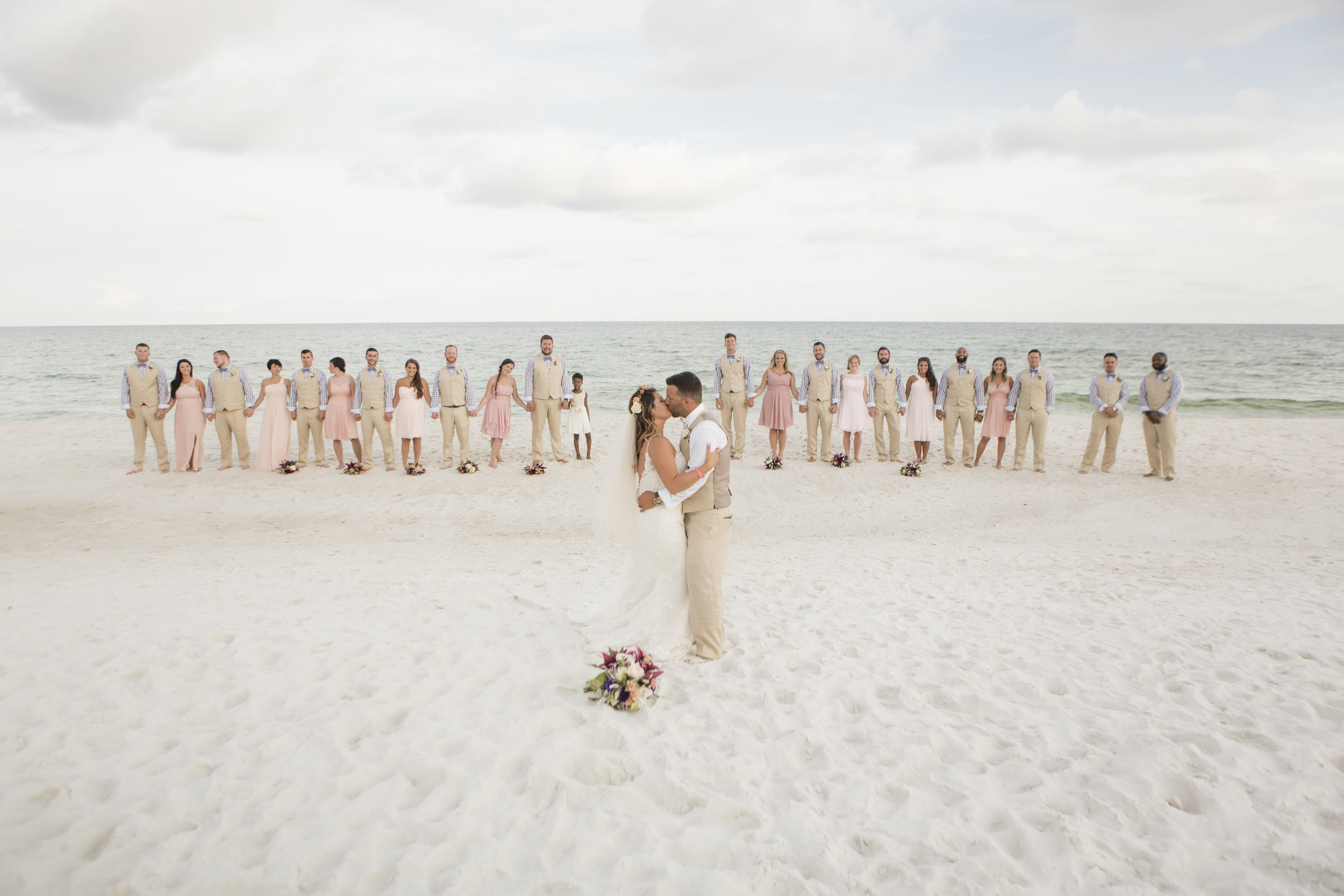 Blush Bohemian Beach wedding - Aislinn Kate Photography + Grace and Serendipity