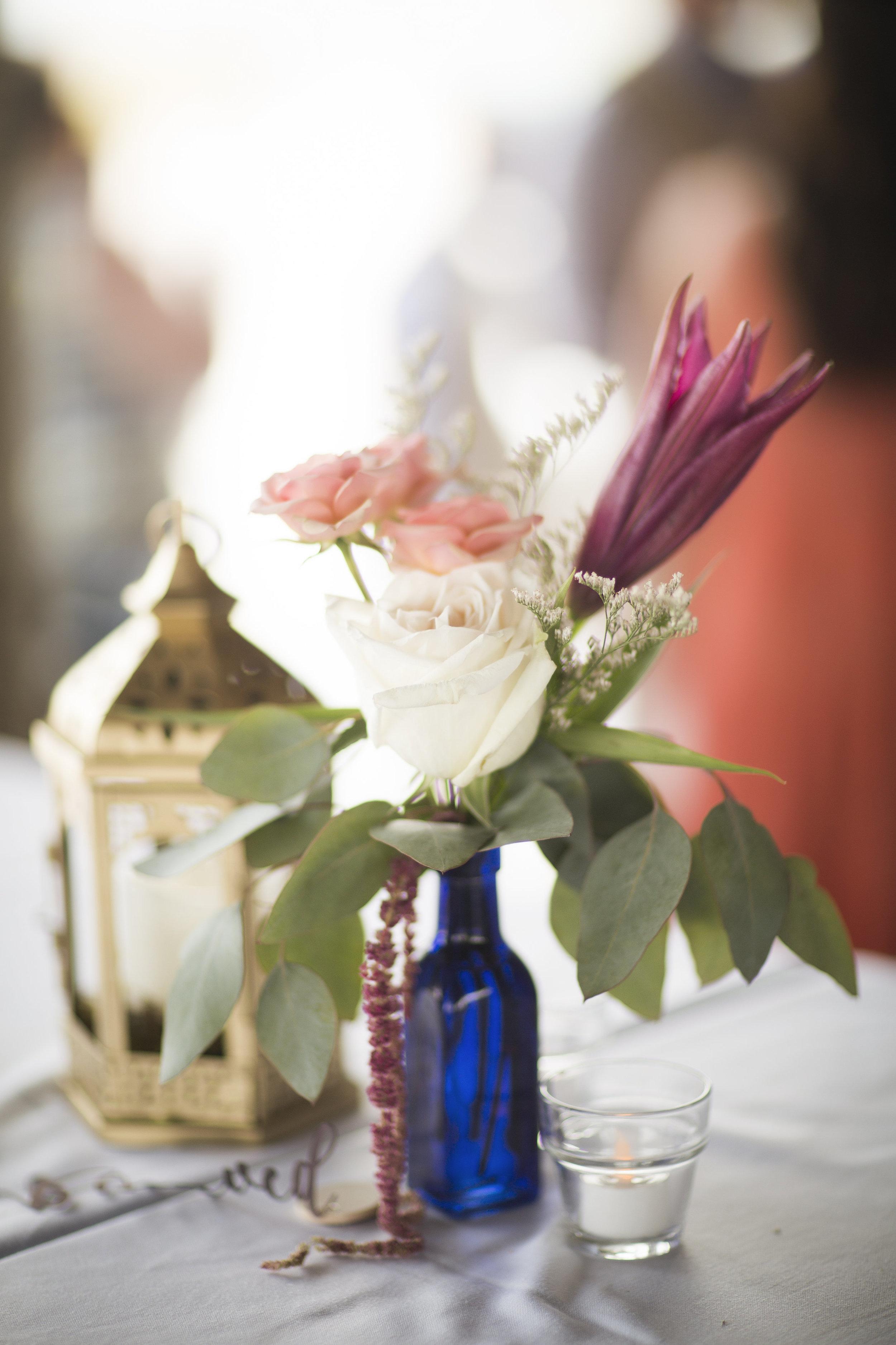 Boho Beach Wedding Centerpieces - Fiore of Pensacola + Grace and Serendipity