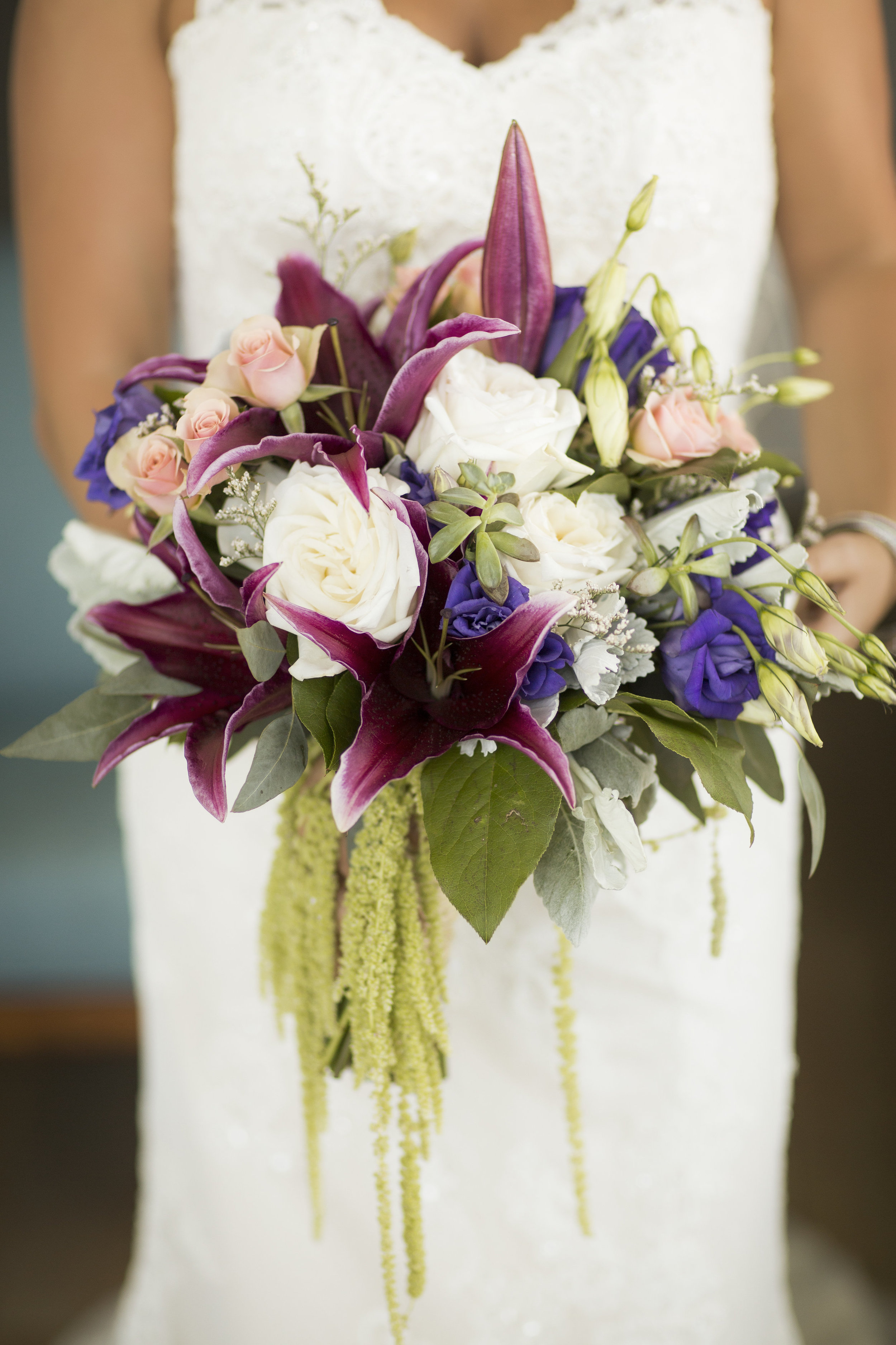 Beautiful Brides Bouquet by Fiore of Pensacola - Grace and Serendipity + Aislinn Kate