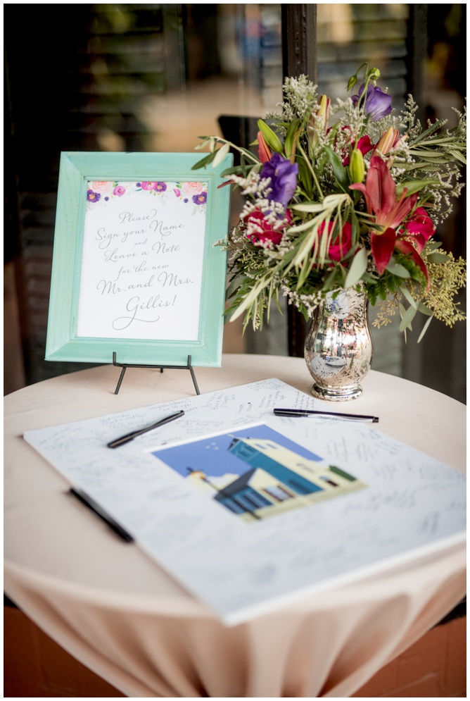 Guestbook Wedding Photo Mat - Grace and Serendipity, photography by Aislinn Kate Photography