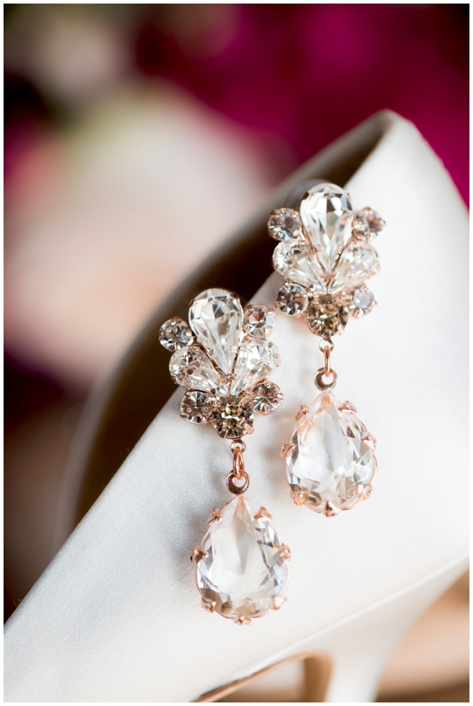 Wedding Earrings - Aislinn Kate Photography