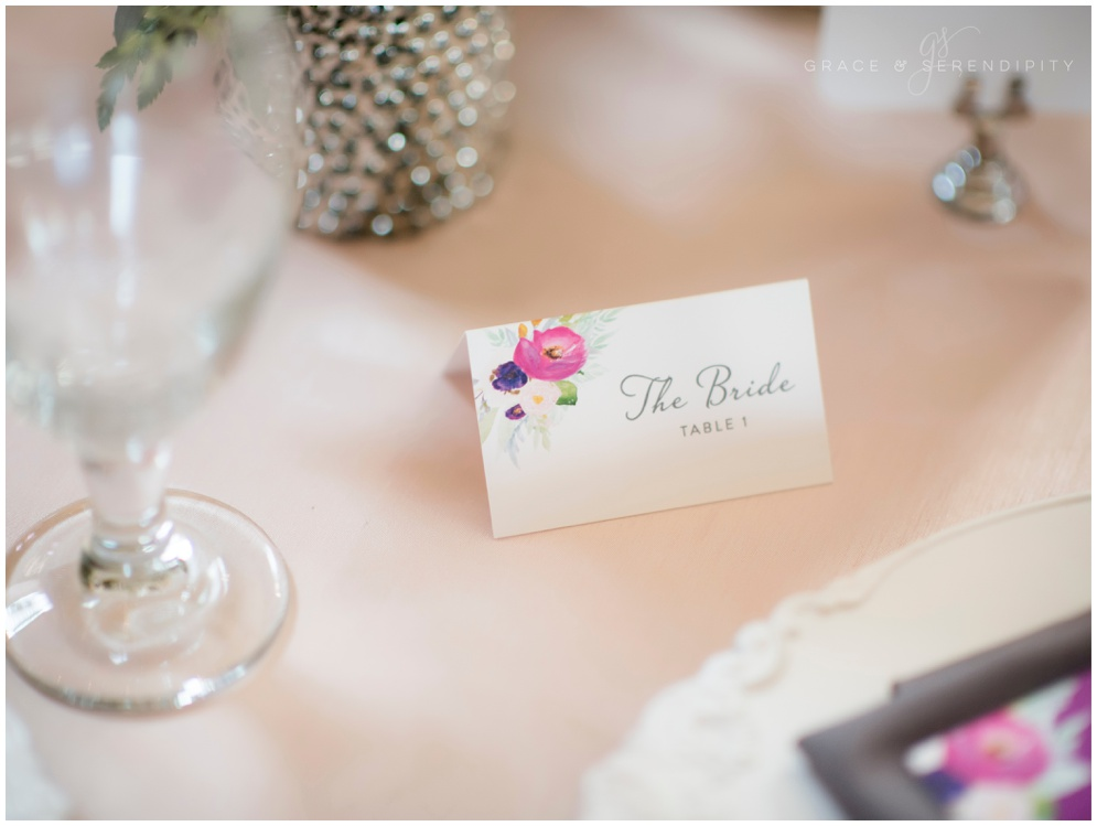 Palafox Wharf Wedding Placecards by Grace and Serendipity, aislinn kate photography
