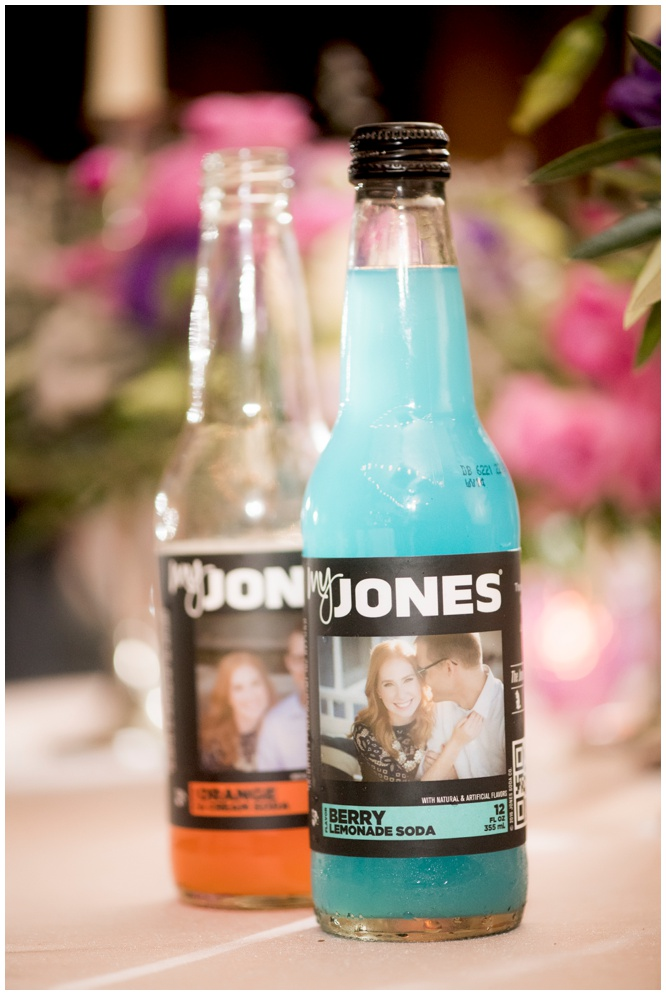 Custom Jones Soda Bottles - Palafox Wharf Wedding - Aislinn Kate Photography