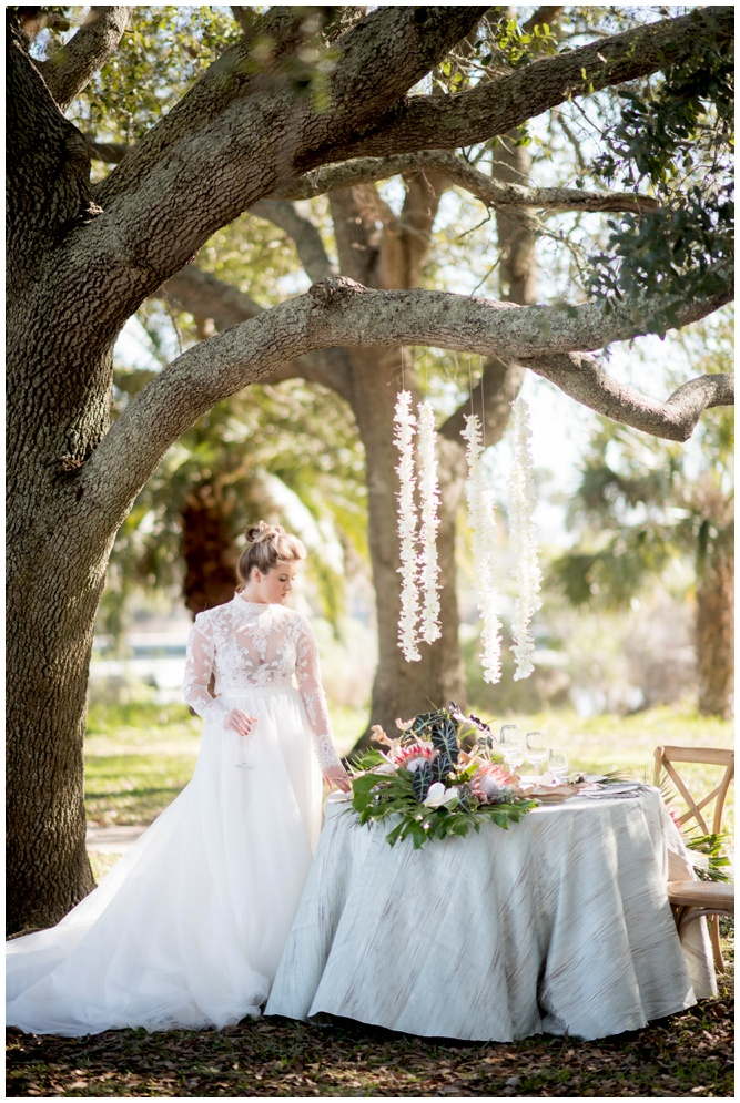 Vintage Gown with Hanging Orchids - Swiss Family Robinson styled shoot - by Aislinn Kate Photography_0238.jpg