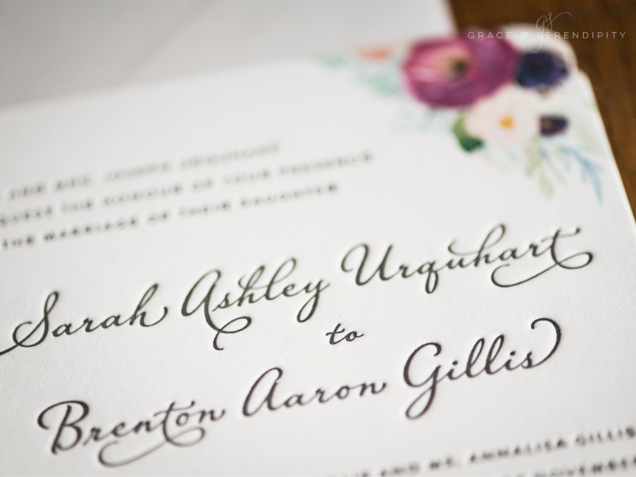 Five Budgeting Tips for Wedding Paper from Grace and Serendipity